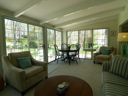 Harwich Cape Cod vacation rental - Comfortable & spacious sunroom
