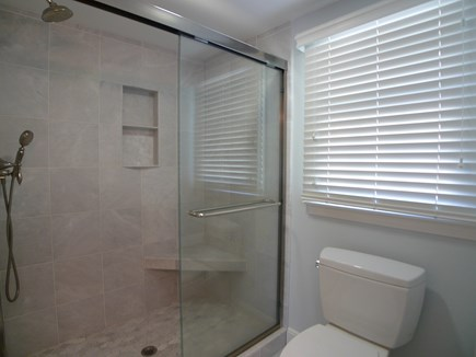 Harwich Cape Cod vacation rental - First floor beautiful tiled step in shower