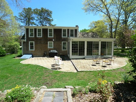 Harwich Cape Cod vacation rental - Rear view with large patio