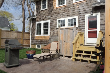 Harwich Port Cape Cod vacation rental - Patio & grille