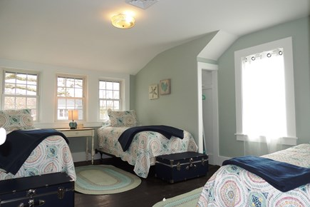 Harwich Port Cape Cod vacation rental - Guest bedroom with 3 twins