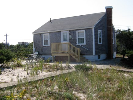 East Sandwich Cape Cod vacation rental - The cottage and patio area