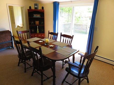 Eastham Cape Cod vacation rental - Large dining table for family gatherings.