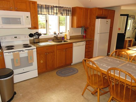 Eastham Cape Cod vacation rental - Modern spacious kitchen with granite countertops.