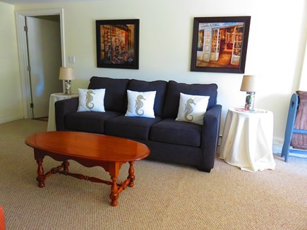 Eastham Cape Cod vacation rental - Queen sized sleeper sofa in living room #2.