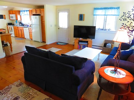 Eastham Cape Cod vacation rental - Open floor plan from living room to kitchen.