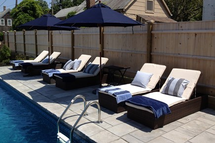 Provincetown Cape Cod vacation rental - Side of the pool