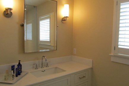 Provincetown Cape Cod vacation rental - Upstairs bathroom sink