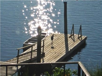 Yarmouth Port Cape Cod vacation rental - Dock for your canoe or kayak