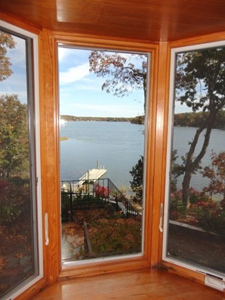 Yarmouth Port Cape Cod vacation rental - View from kitchen