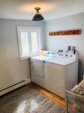 Harwichport Cape Cod vacation rental - First floor laundry