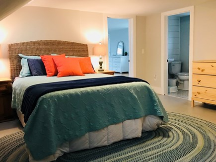 Harwichport Cape Cod vacation rental - Queen bedroom with private bathroom
