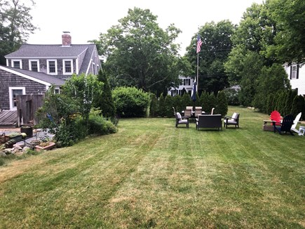 Yarmouth Port Cape Cod vacation rental - Rear section of side yard