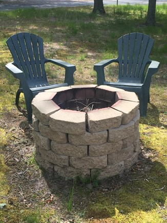 West Yarmouth Cape Cod vacation rental - Fire pit for s'mores