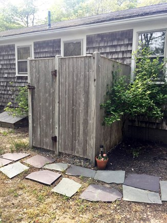 West Yarmouth Cape Cod vacation rental - Large outdoor shower