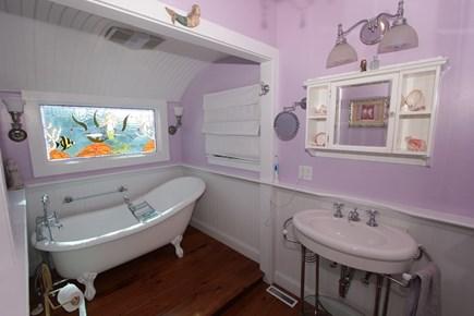 Sagamore Beach, Sandwich Sagamore Beach vacation rental - Bathroom with claw foot tub