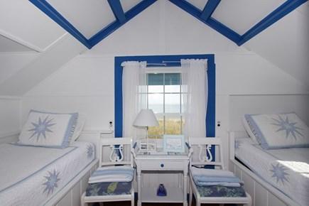 Sagamore Beach, Sandwich Sagamore Beach vacation rental - Bedroom 2, 2 twins- this loft area has a half bath