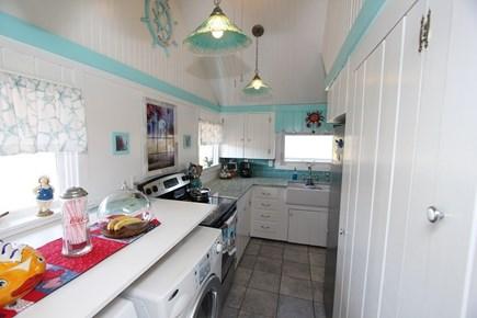 Sagamore Beach, Sandwich Sagamore Beach vacation rental - Kitchen with 1st floor washer and dryer