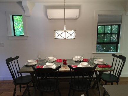 Provincetown Cape Cod vacation rental - Indoor dining area; seating for 8
