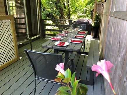 Provincetown Cape Cod vacation rental - Outdoor Dining Area; Seating for 8