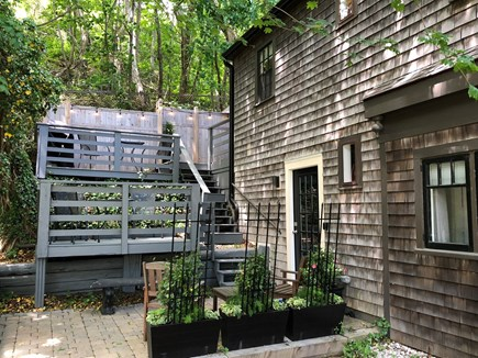 Provincetown Cape Cod vacation rental - Patio area, Two Deck Levels with Gas Grill