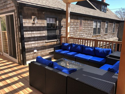 Provincetown Cape Cod vacation rental - Outdoor Lounge