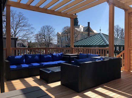 Provincetown Cape Cod vacation rental - Outdoor Lounge Area