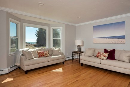 Harwich  Cape Cod vacation rental - Living room with view of Nantucket Sound