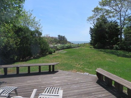 Harwich  Cape Cod vacation rental - View of nantucket Sound and Earl Street Beach off backdeck