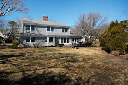 Harwich  Cape Cod vacation rental - House back