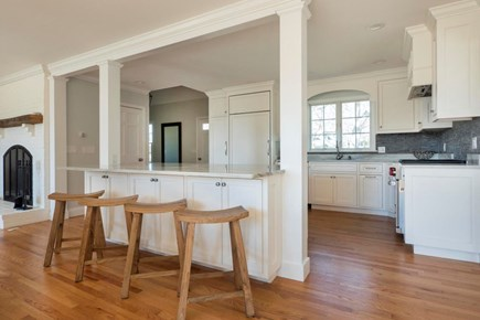Harwich  Cape Cod vacation rental - Kitchen from Dining area with seating