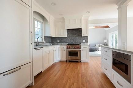 Harwich  Cape Cod vacation rental - Kitchen with wolf range and subzero