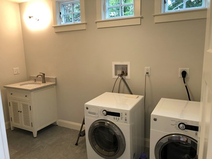 Orleans Cape Cod vacation rental - 2nd bathroom with washer and dryer