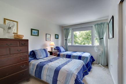 Mashpee, Popponesset Cape Cod vacation rental - Center bedroom on 2nd level with 2 twin beds