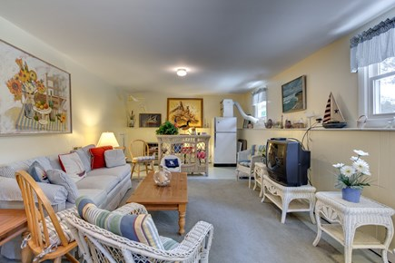 Mashpee, Popponesset Cape Cod vacation rental - Lower level family room with 2nd full sized refrigerator and full