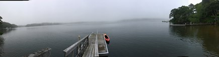 Yarmouth Cape Cod vacation rental - Panoramic view from the dock.