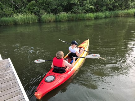 Yarmouth Cape Cod vacation rental - Kayak (or swim) right from your own dock.