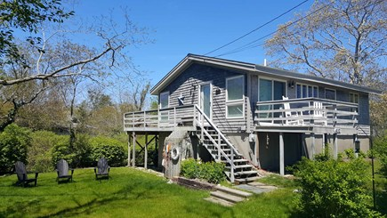 Wellfleet Cape Cod vacation rental - Home has a beautiful yard and deck