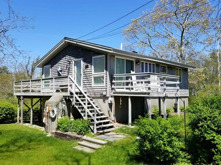 Wellfleet Cape Cod vacation rental - Wonderful yard, deck and enclosed outdoor shower