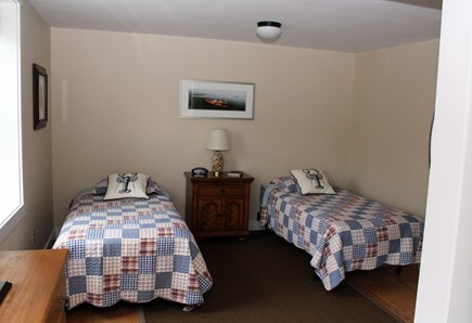 Wellfleet Cape Cod vacation rental - Lower level bedroom with two twins