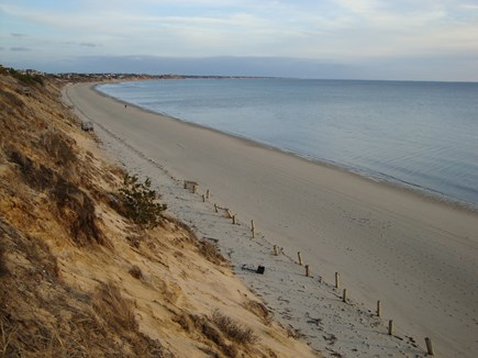 Truro Cape Cod vacation rental - Private beach 2/10 mile away, looking south towards Wellfleet