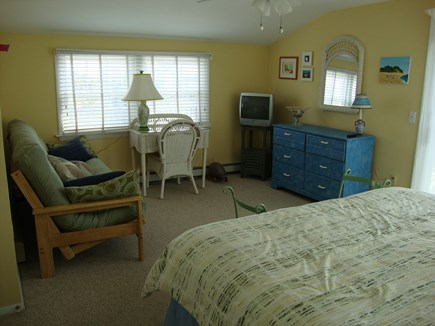 Truro Cape Cod vacation rental - Another photo of 2nd floor king bedroom showing futon.