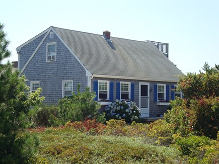 Truro Cape Cod vacation rental - Front of house. Spacious lot with parking for up to 4 cars.