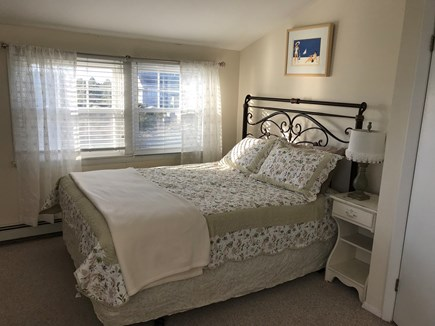 Truro Cape Cod vacation rental - Sunny 2nd floor queen bedroom with futon and AC.