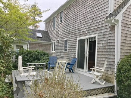 Eastham Cape Cod vacation rental - Outside deck