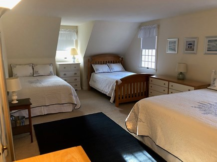 Eastham Cape Cod vacation rental - Large Bedroom with King, Full and Twin