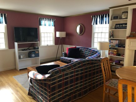 Eastham Cape Cod vacation rental - TV area