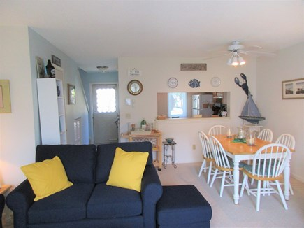Brewster Cape Cod vacation rental - Living Room & Dining Area