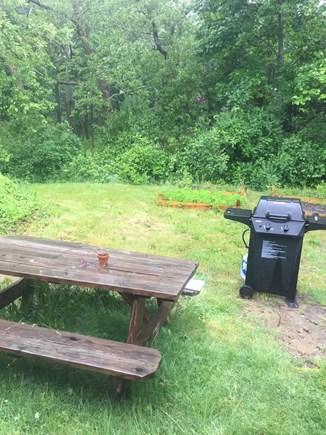 Orleans Cape Cod vacation rental - Grill and picnic table off kitchen