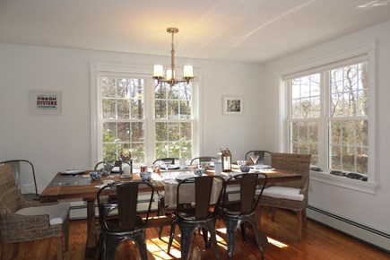 Harwich Cape Cod vacation rental - Light filled dining room